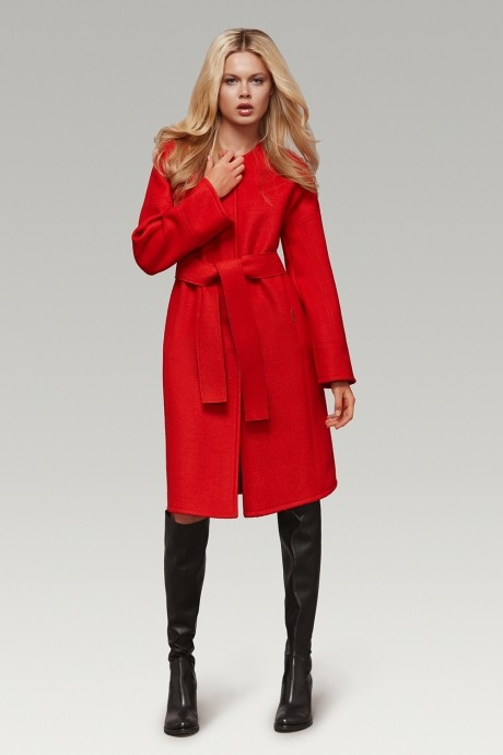 Пальто Prestige 2642 красный