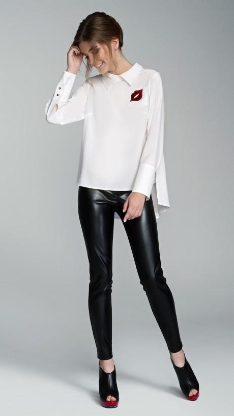 Блузки и туники Arita Style (Denissa) 091 белый