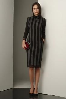 Lissana 3235 черно-серый