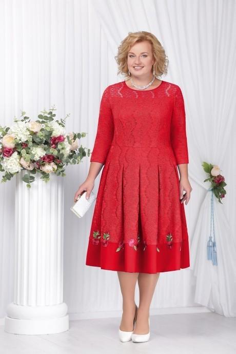 Купить белорусское платье красно