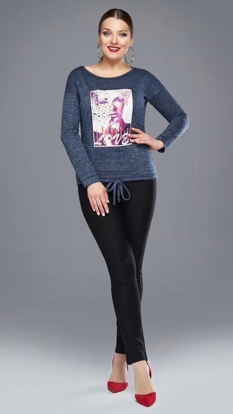 Жакеты (пиджаки) DiLiaFashion 0087-1 джинс