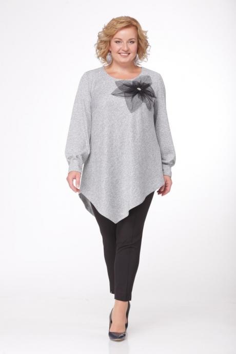 Блузки и туники Джерза 0171 серый