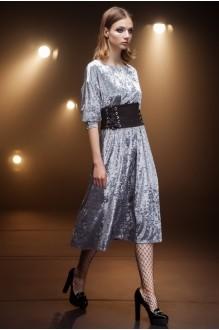 Вечерние платья Nova Line 5669 серый фото 1