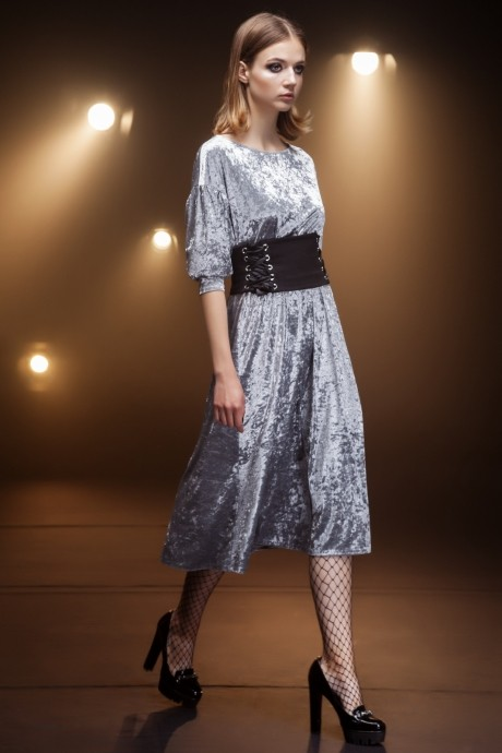 Вечерние платья Nova Line 5669 серый