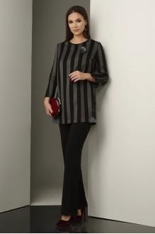 Lissana 3237 черно-серый