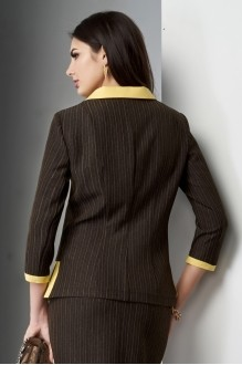 Юбочные костюмы /комплекты Lissana 3210 желтый/коричневый фото 6