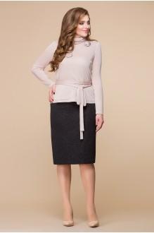 Romanovich Style 2-156 бледно-розовый/черный