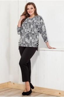 Fashion Lux 1140 /1 серо-чёрнй