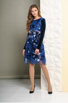 Вечерние платья Golden Valley 4435 темно-синий фото 2