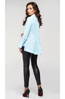 Блузки и туники Arita Style (Denissa) 091 голубой фото 2