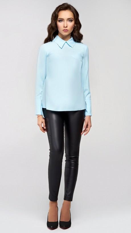 Блузки и туники Arita Style (Denissa) 091 голубой