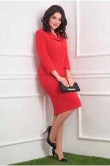 Деловые платья Мода-Юрс 2370 красный фото 2