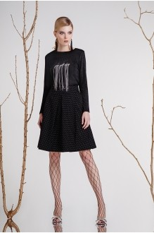 Юбочные костюмы /комплекты Prestige 3268А черный фото 1