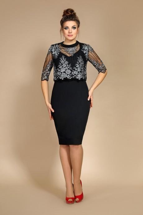 Вечерние платья Мублиз 008 черный