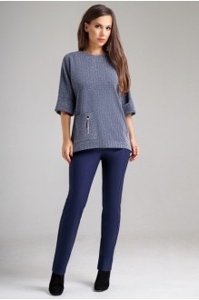 *Распродажа Teffi Style 1274 с синими брюками
