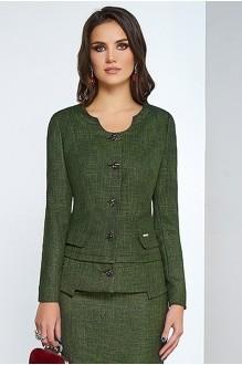 Юбочные костюмы /комплекты Lissana 3254 зеленый фото 2
