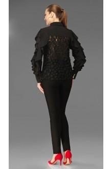 Блузки и туники DiLiaFashion 0096 чёрный  фото 2