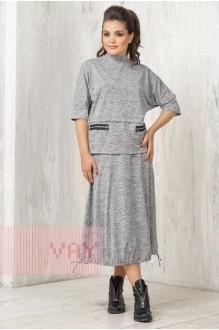 *Распродажа VAY 3349 т. серый меланж