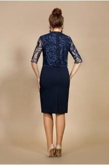 Вечерние платья Мублиз 008 синий фото 2