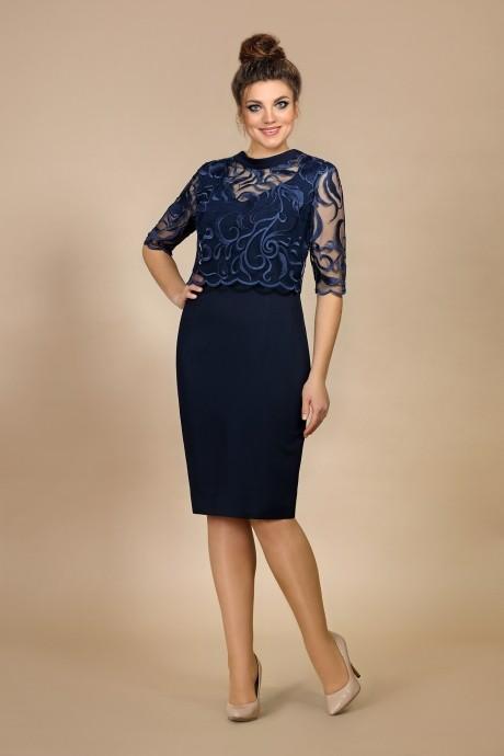 Вечерние платья Мублиз 008 синий