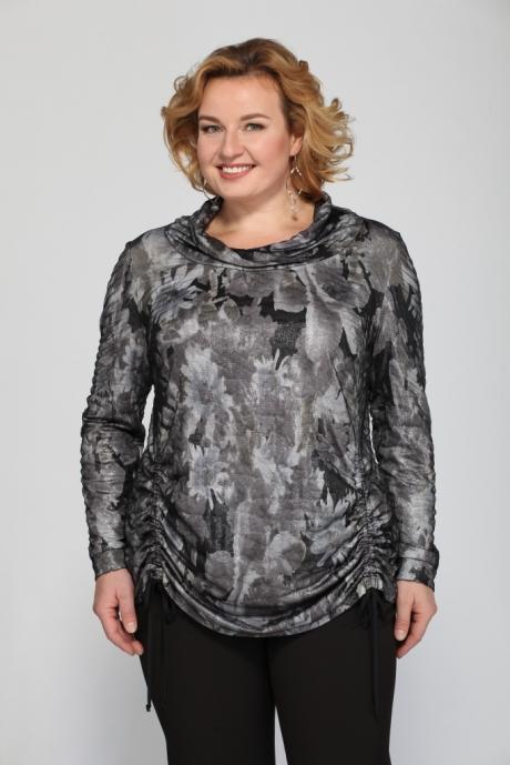 Блузки и туники Джерза 0178 серый