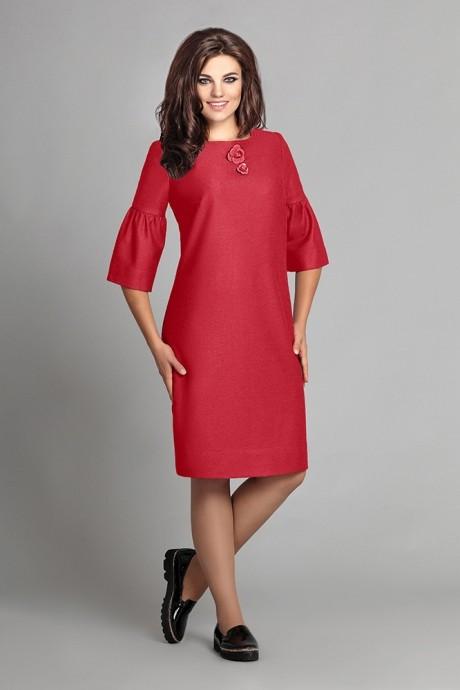 Повседневные платья Мублиз 035 красный