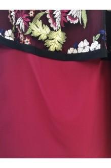 Вечерние платья Matini 1.1046 цветы с листьями фото 5