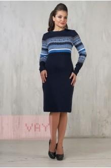 *Распродажа VAY 2241  т.синий/яр.голубой/белый