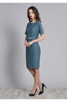 Галеан-стиль 628 серо-голубой