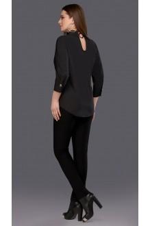 Блузки и туники DiLiaFashion 0100 чёрный фото 2