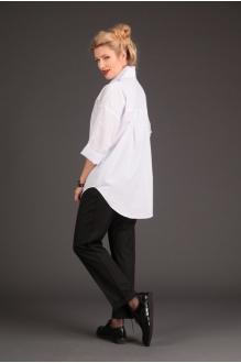 Блузки и туники Elletto 3073 белый фото 2