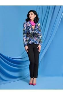 Твой Имидж 9015 синий с розовым цветы