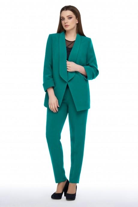 Жакеты (пиджаки) Arita Style (Denissa) 0129 бирюза