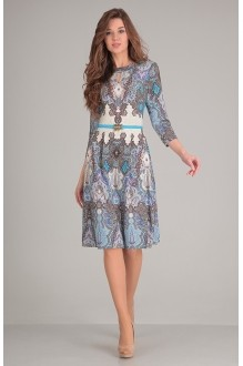 SandyNa 13380 голубой дизайн