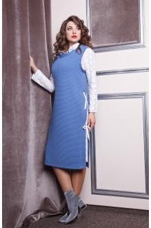Anastasia 168 голубой/белый