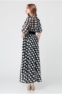 Длинные платья Anastasia 062.1 черно-белый фото 2