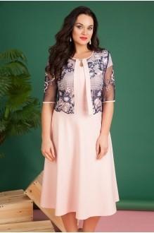 Лилиана 618-N синий/розовый