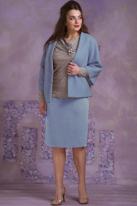 Магия Моды 1283 голубой с хаки