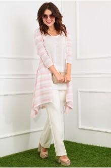 Мода-Юрс 2357 розовые полоски/молочный