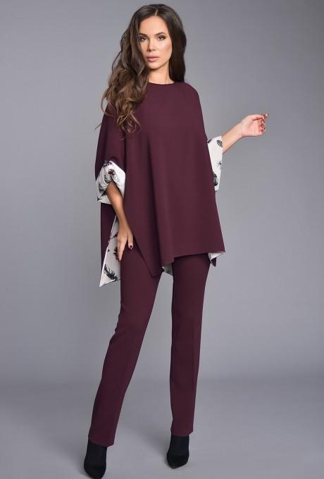 Teffi Style 1285 пурпурно-черный