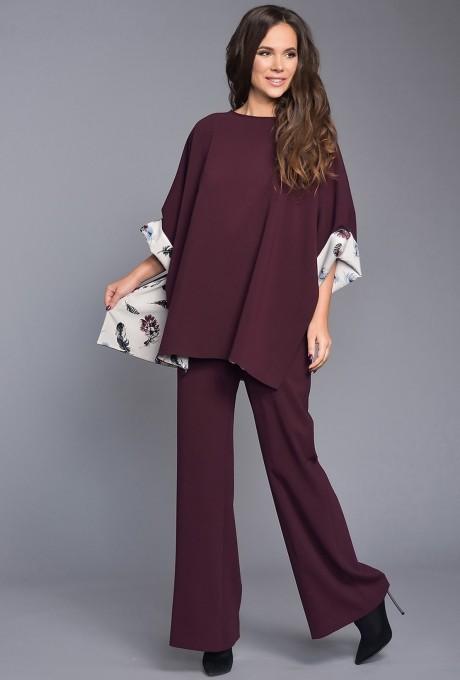 Teffi Style 1288 пурпурно-черный