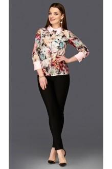 Блузки и туники DiLiaFashion 0103 розовый фото 1