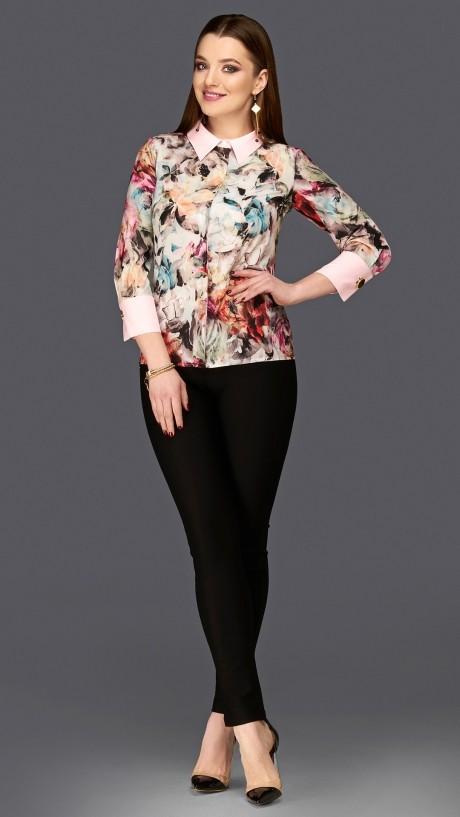Блузки и туники DiLiaFashion 0103 розовый