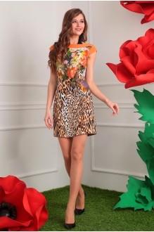 Мода-Юрс 2105 верх цветы/низ леопард