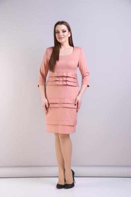 Повседневные платья Анастасия Мак 094 пудровый