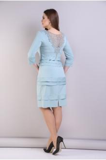 Повседневные платья Анастасия Мак 094 светло-голубой фото 2