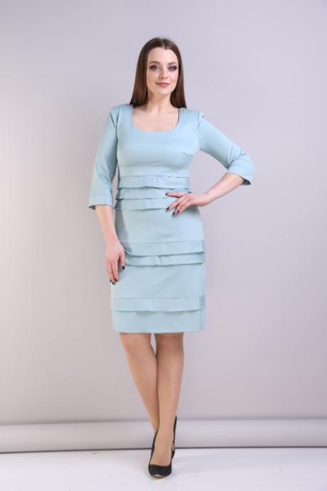 Повседневные платья Анастасия Мак 094 светло-голубой
