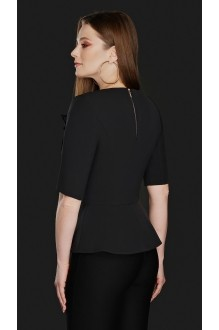 Блузки и туники DiLiaFashion 0104 чёрный фото 2