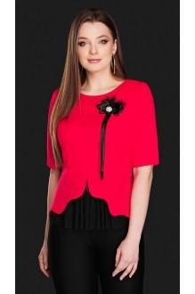 Блузки и туники DiLiaFashion 0104 красный фото 1