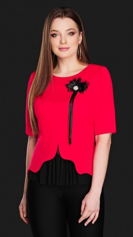 Блузки и туники DiLiaFashion 0104 красный